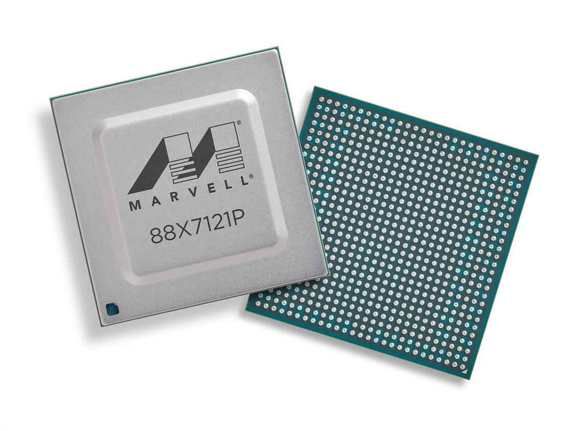 Marvell发布面向数据中心和5G基础设施的双端口400GbE MACsec PHY,采用C类PTP时间戳