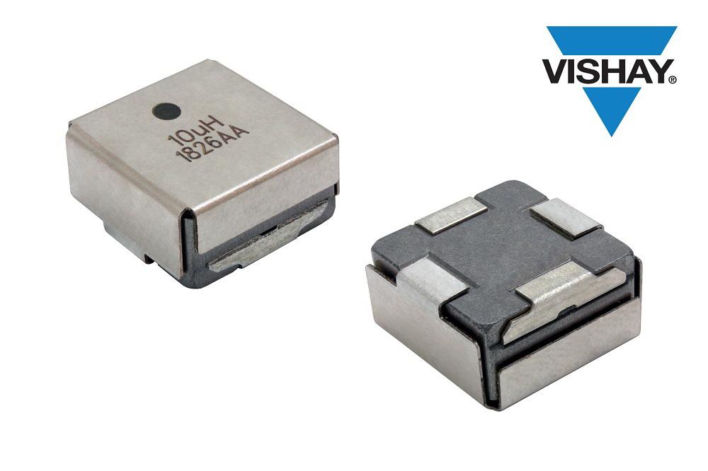 Vishay推出工业级和汽车级IHLE集成式电场屏蔽电感器降低成本,节省空间