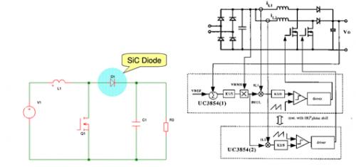 SiC使通讯电源PFC设计更高效、更简单-原理图 技术方案