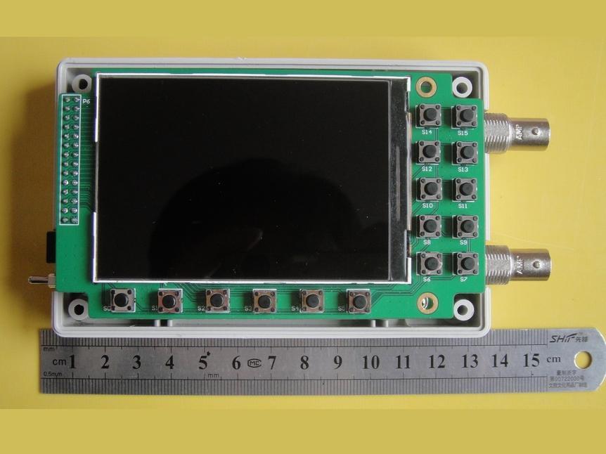 FPGA双通道示波器,带宽30MHZ(原理图、PCB、FPGA源码)