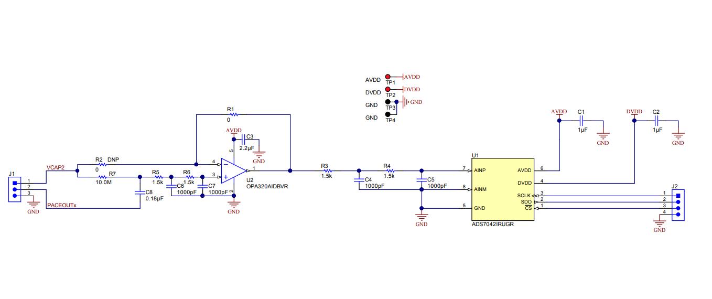 基于ADS129x的软件起搏器检测电路设计