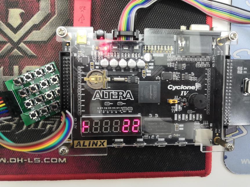 基于FPGA的简易计算器