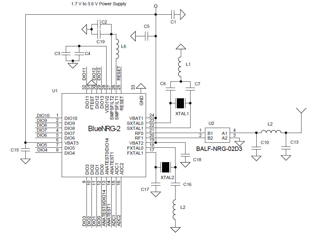 面向物联网系统的ST连接芯片组或模块可破解射频设计难题