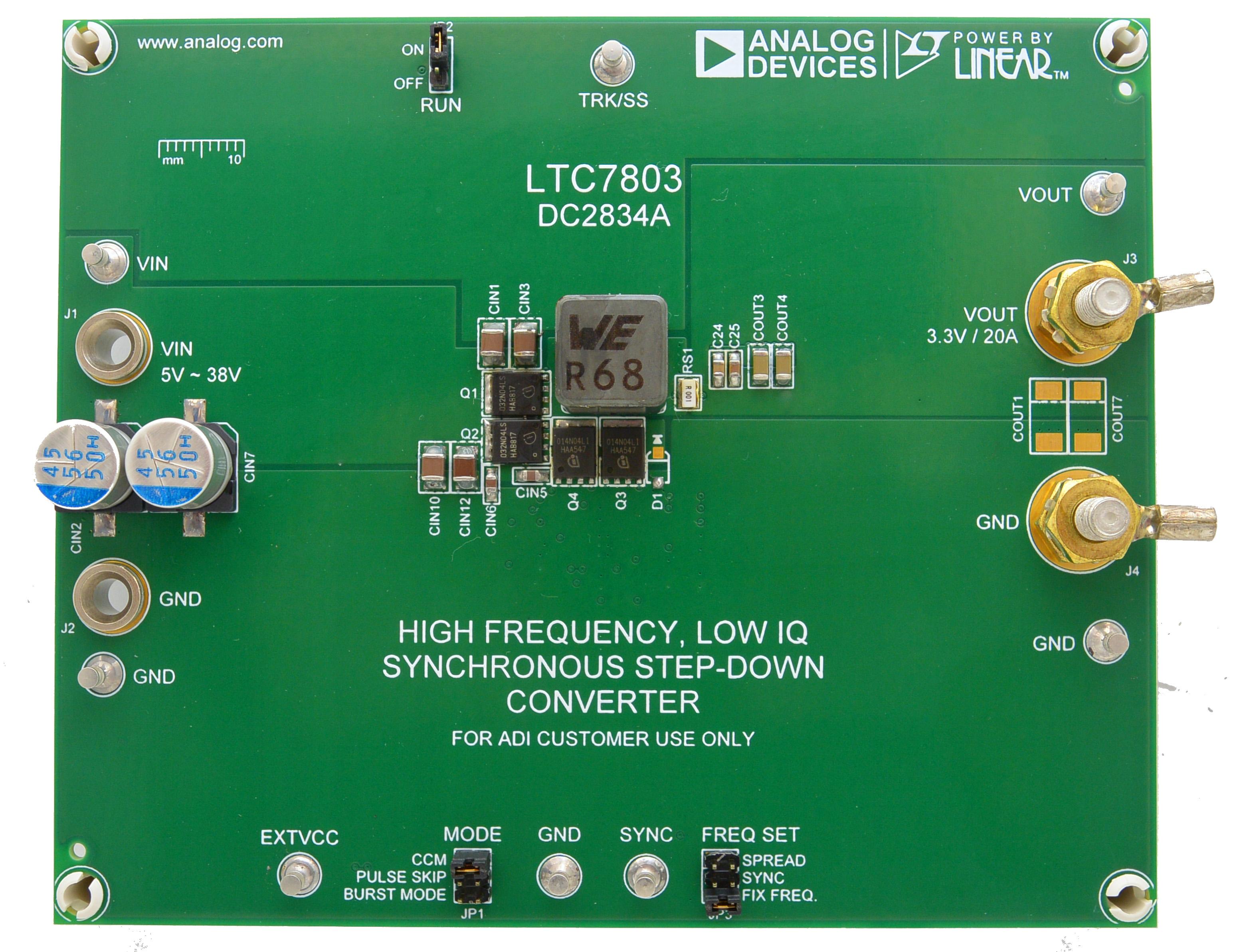 LTC7803或先进电源便捷设计之路
