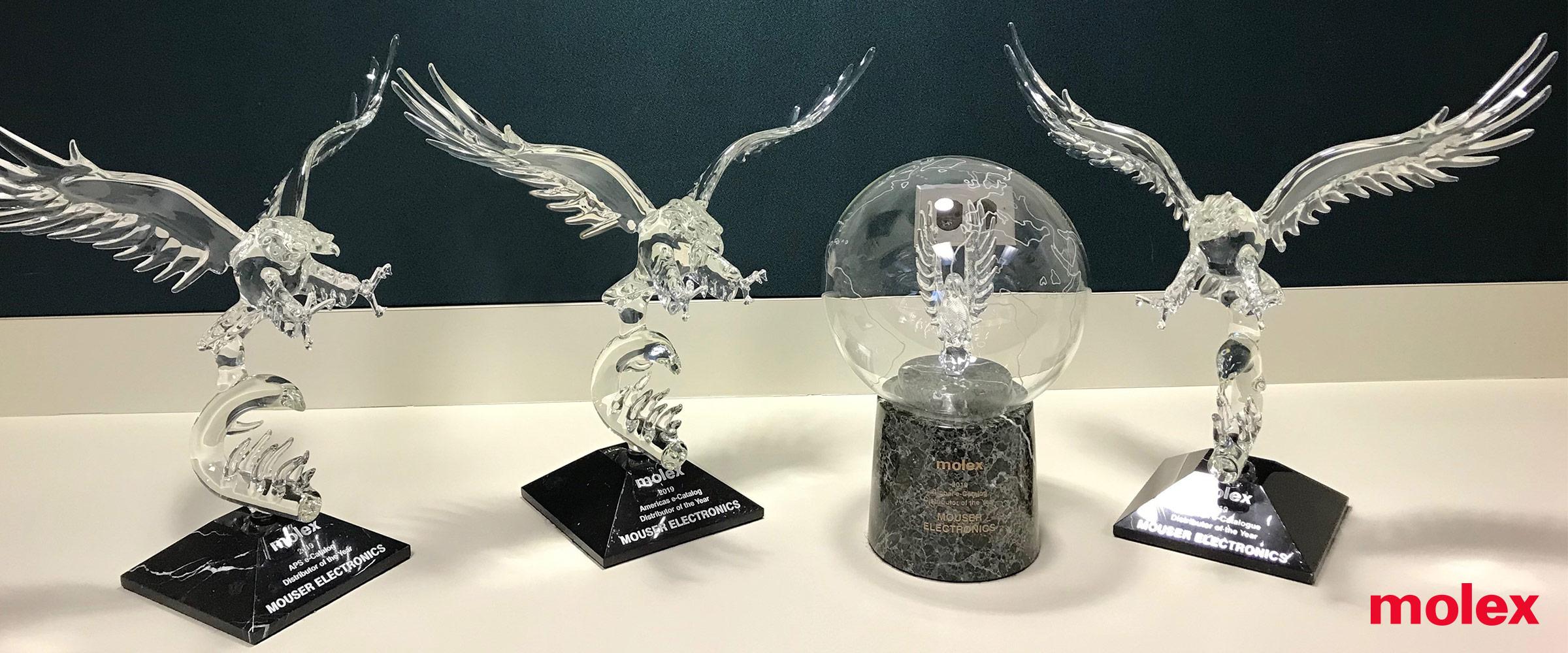 贸泽电子连续第二年荣获Molex亚太区年度电子目录分销商奖