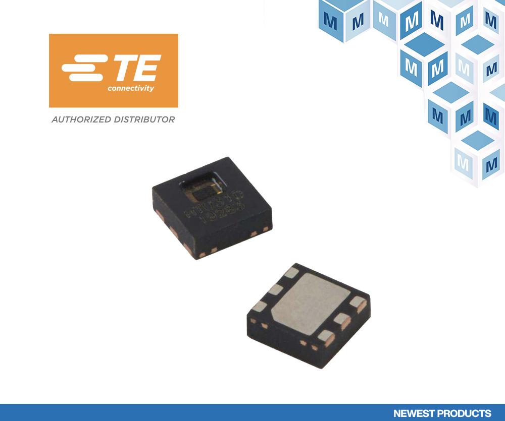 面向恶劣环境的高精度温湿度传感器 TE Connectivity HTU31在贸泽开售