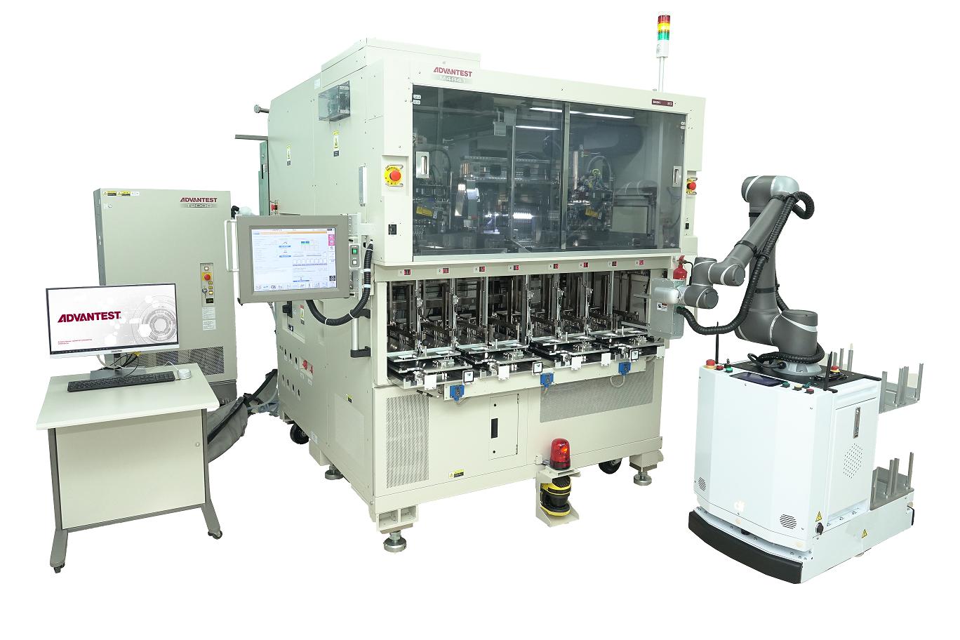 意法半导体与爱德万测试合作开发先进IC自动测试单元系统