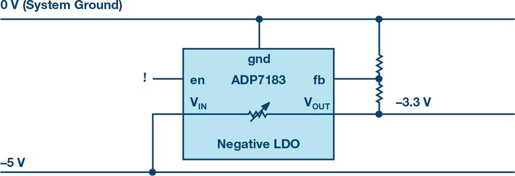 负电压线性稳压器