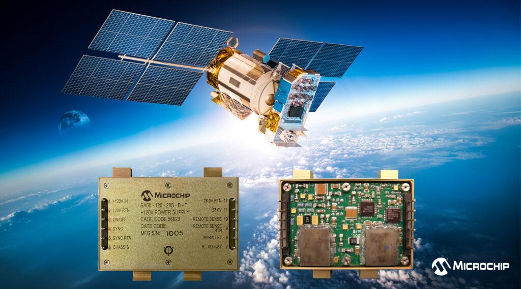 Microchip 宣布推出基于 COTS 的宇航级抗辐射电源转换器