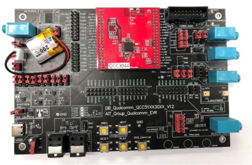 大联大诠鼎集团推出基于Qualcomm技术的主动降噪蓝牙耳机方案
