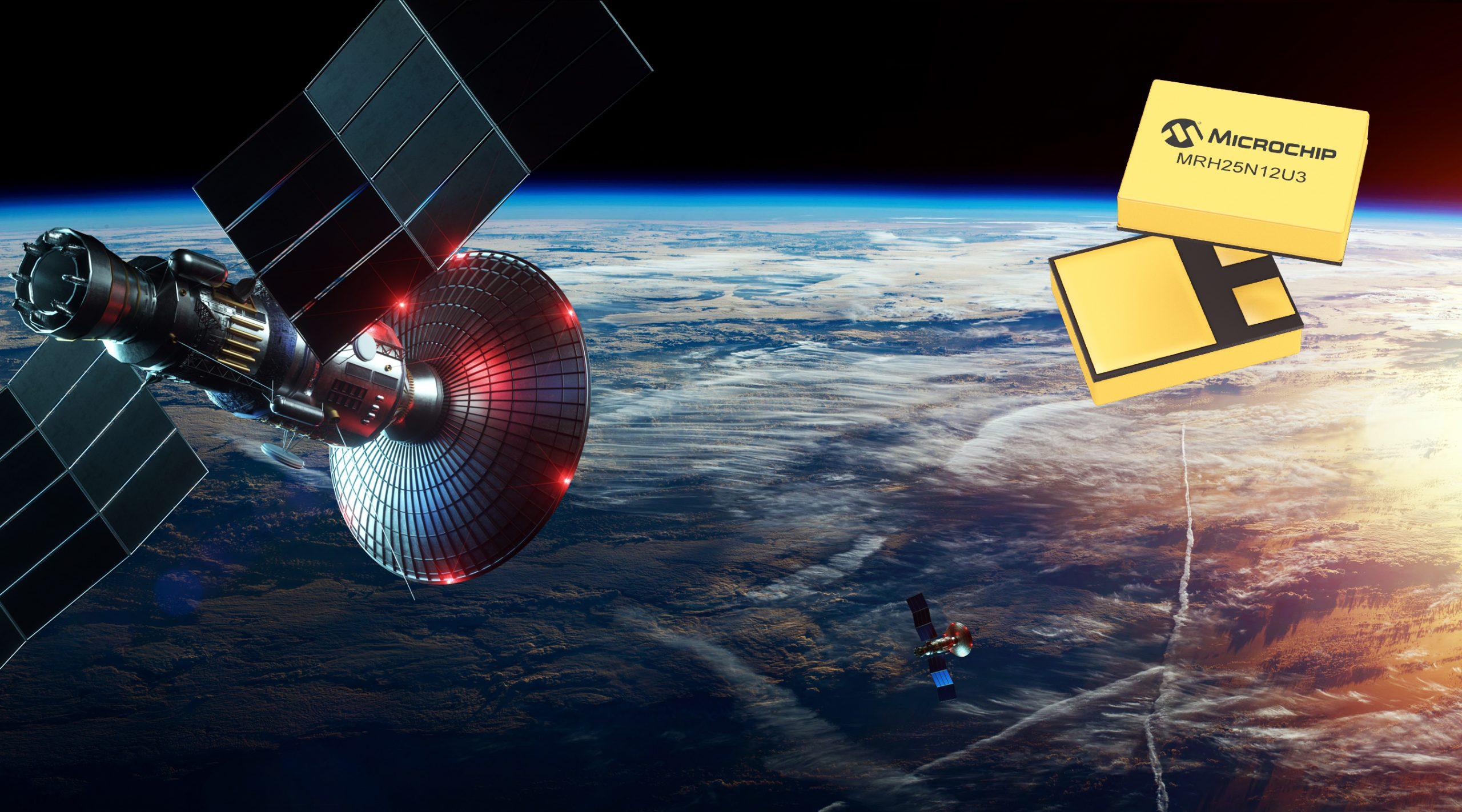 Microchip抗辐射MOSFET获得商业和军用卫星及航空电源解决方案认证
