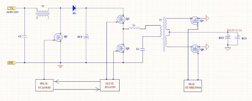 大联大友尚集团推出基于ST产品的大功率电源适配器方案