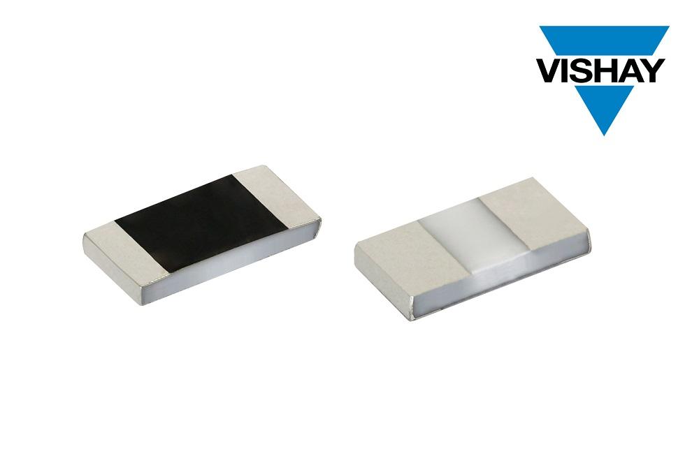 Vishay的新款薄膜贴片电阻已通过AEC-Q200认证,额定功率高达2.5 W,且耐湿性能优异