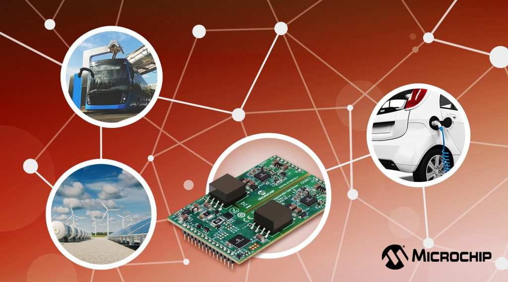 Microchip推出首款完全可配置的碳化硅MOSFET数字栅极驱动器,可将开关损耗降低50%,同时加快产品上市时间,现已投入生产